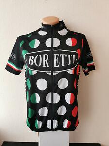 Womans AGU BORETTI Short Sleeve Cycling Jersey Size XS