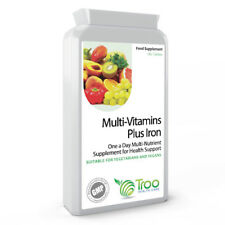 Multi Vitamins & Iron 180 Tablets - One a Day Multivitamin Health Supplement