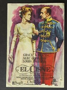 circa1950s MEXICAN MOVIE HANDBILL~THE SWAN starring GRACE KELLY~