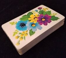 NEW Western Publishing Co., Inc. Playing Cards Deck Retro Vintage Floral USA