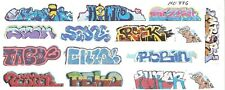 HO COLORFUL REAL GRAFFITI DECALS BOXCARS  COVERED HOPPERS  MINIONS SET 336