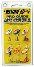 Panther Martin Pro Guide Anywhere 6pk AW6 Deadly for Trout Fishing Lures 2 sizes