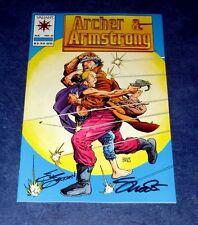 ARCHER & ARMSTRONG #0 signed 1st print JIM SHOOTER J. JACKSON 1st app VALAINT 92