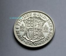 1929 Half crown King George V Silver  50% Silver Content British UK