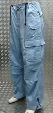 "Jungle Combat / Cargo Baggy 6 Pocket Trousers Light Blue Size 36"" - NEW"