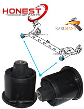 For NISSAN NOTE E11 2005-2012 REAR SUSPENSION AXLE MOUNTING BUSHS X2 Karlmann