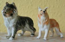 More details for vintage porcelain china porcelain ceramic border collie lassie dog figurines