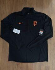 Men's Nike Authentic San Francisco Giants Dry Element Half-Zip Pullover Sweater