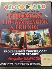 Thomas & Friends, Troublesome Trucks VHS Video Retro, Supplied by Gaming Squad
