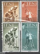 IFNI Edifil # 145/148 ** MNH Set.Deprtes / Sports / cicling / baloncesto
