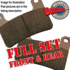 Victory Cory Ness Jackpot 1634cc 2008 Full Set Sintered Brake Pads