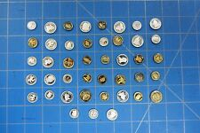 LOT OF 43 MISCELLANEOUS MINI U.S. TYPE NOVELTY COINS