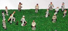 More details for cricket game people a76p painted n gauge scale langley models people figures
