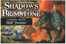 NEW Shadows of Brimstone: Hell Vermin Enemy Pack Factory Sealed