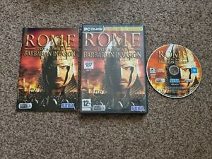 Rome Total War Barbarian Invasion Expansion Pack PC CD ROM Gaming