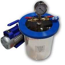 Smo-king Vacuum Degassing Chamber, Stainless Steel, 1.0 Gallon, 4.5 Litre