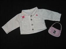 Genuine American Girl Doll Clothes-Réglisse meilleur ami VESTE & Sac à Main/Sac