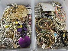 All Wearable Necklace Bracelet Bulk Costume Jewelry Lot 19.5 lbs Free Ship #5