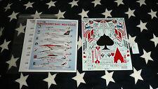 Fightertown Decals 48078 F/A-18E/F SuperHornet Ball - West Coast