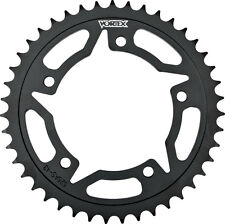 VORTEX STEEL REAR SPROCKET BLACK 41T Fits: Kawasaki EX250F Ninja 250R,EX500 Ninj