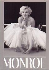 Marilyn Monroe Ballerina Black/white Postcard Official 10cm x 15cm