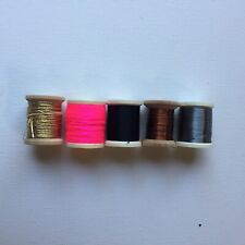 Fly Tying Floss & Wire - 5 Spools