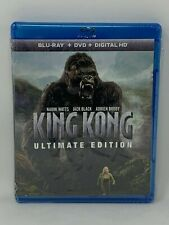 King Kong (2005) Blu-Ray + Dvd Buy 5 Get 1 Free! Pay $3 Shipping Once!