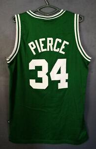 REEBOK PAUL PIERCE 34 NBA BOSTON CELTICS BASKETBALL SHIRT JERSEY CAMISETA SIZE M