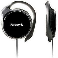 Panasonic RP-HS46 Black Slim Clip-on Over Ear Stereo MP3 Player iPod Headphones