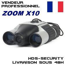 JUMELLES CAMERA ESPION 32 GO MAX ZOOM X10 GB LOUPE VIDÉO PHOTO DT08 HDS-DT08 DVR
