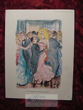 SHERMAND cartoon Esquire tall woman short man dancing