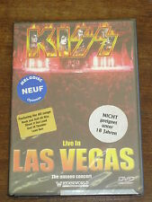KISS Live in Las Vegas DVD NEUF