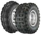 (4) Front 22X7-10 Rear 20X11-9 Tires SET NEW ATV Yamaha Raptor 660 700 350