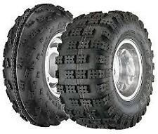 (4) Front 22X7-10 Rear 20X11-10 Tires SET NEW ATV Rubber 4 Wheeler