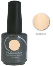Entity 1 One Color Couture Soak Off Gel Polish  ~ NEGLIGEE  ~ .5 oz