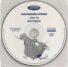 2003 2004 2005 2006 Ford Expedition Navigation CD Map #10 Cover AL GA SC NC