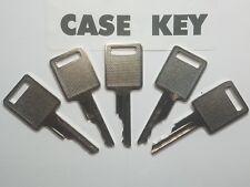 (5) Case and Bobcat  Heavy Equipment Keys  for Backhoe, Skid Steer Equipment