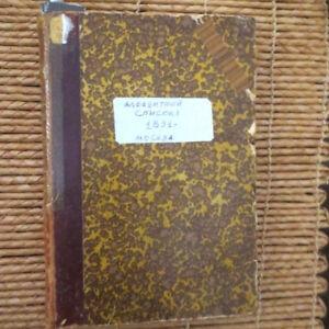 1891 Алфавитный Список... Иностранною Цензурою; RUSSIAN CENSORSHIP Foreign Books