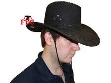 Sombrero de Vaquero Adulto ante marrón claro ante marrón oscuro Negro  Gamuza Paquete de 10 63c926a99eb