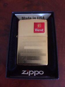 Edles Zippo Gold Top