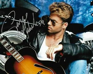 George Michael Autographed Signed 8x10 Photo REPRINT