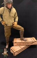 1/6 scale crate box WWII United States (Set of 2) for 1/6 diorama and vehicle