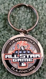2003 MLB Chicago All-Star Game Keychain Key Chain US Cellular Field Whte Sox