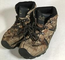 RealTree AP Xtra Camo Hiking Hunting Snow Boots Shoes Boys Kids Youth Size 5