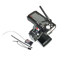 2.4G 3 Channel AFHDS LCD Radio Transmitter w/ Receiver for RC Car Vehicles