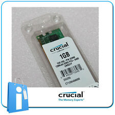 DIMM Memoria RAM CRUCIAL 1GB DDR2 PC6400 800MHz CL6