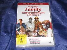 Die große Family Entertainment Collection 1 - 6 Filme auf 2 DVD - neu, 520 Min.
