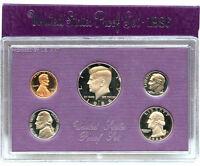 1986 S US Mint Proof Coin Set