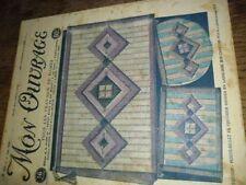 MON OUVRAGE.1930. BRODERIE. N 175. DU 1 JUIN.COUVERTURE.PORTE BILLET .LAINE SOIE
