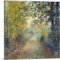 ARTCANVAS In The Woods 1880 Canvas Art Print by Pierre-Auguste Renoir
